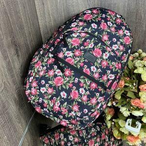 🐬 Vans Motiveatee Backpack pink/black (flowers)